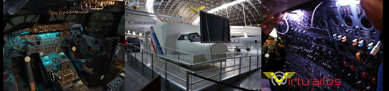 Simulateur du Concorde